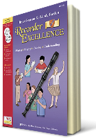 Recorder Excellence - Student Book with CD/DVD/iPAS, microphone, recorder